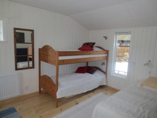Sovrum - Tre sängplatser