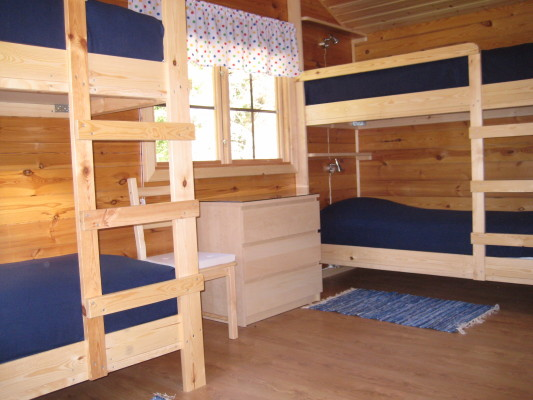 sleeping room - bedroom with 4 beds