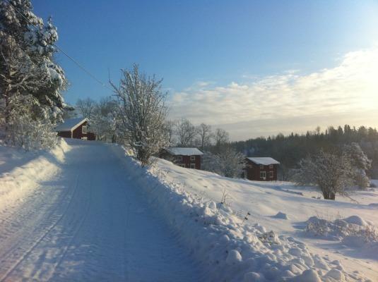 på vintern - Mysigt även vintertid!