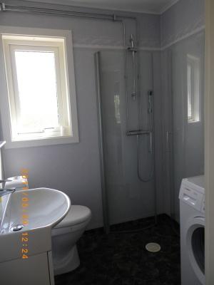Badrum - dusch/wc