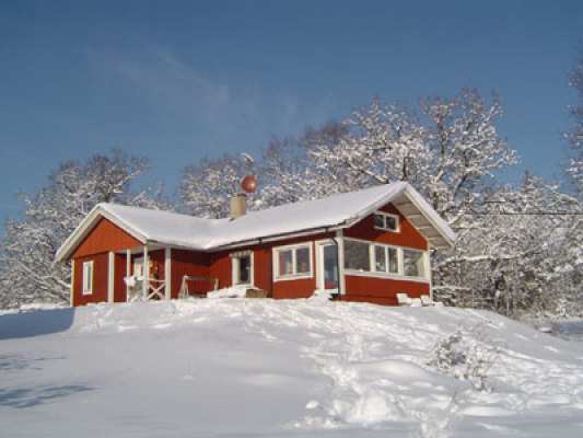 View winter - Holiday house in winter