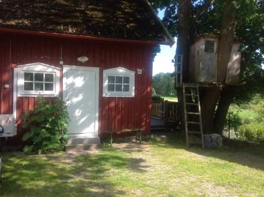 På sommaren - Ingång från gårdsplan