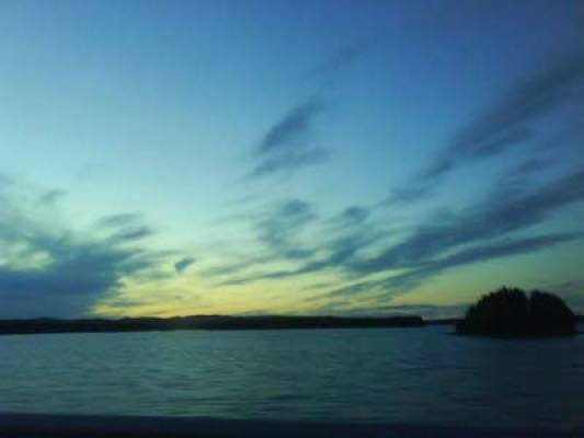 Övrig - kringelfjorden på kvällen