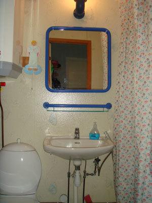 Badrum - dusch/toalett