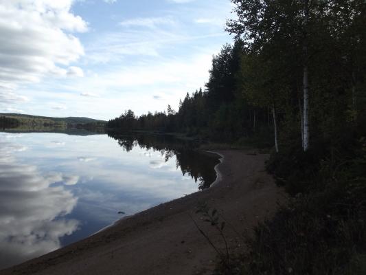 Omgivning - Håensjön Höstbild