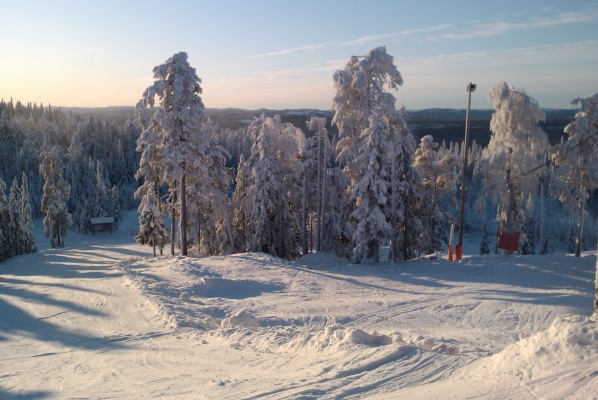 view winter - From the slopes