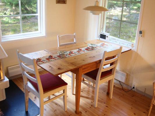 Kök - Matplats/kök i stugan