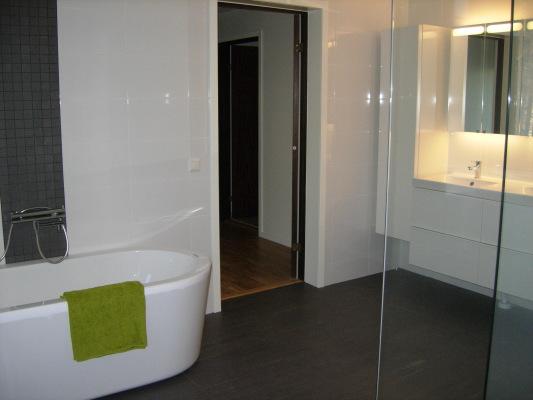 bath room - New bathroom with sauna.