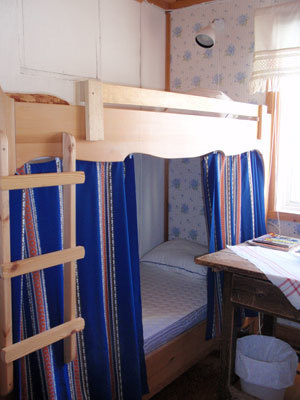 Sovrum - våningssäng