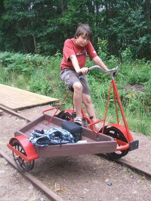 Omgivning - Cykla dressin