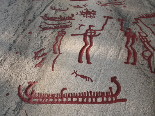 Area info - Vitlycke Rock Carvings in comfortable distance