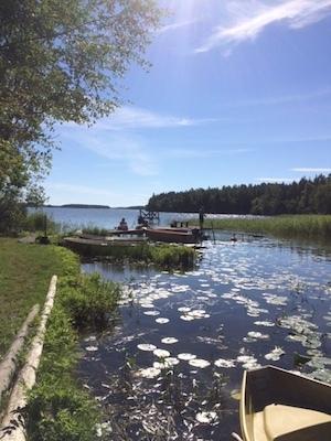 på sommaren - Båtplatsen