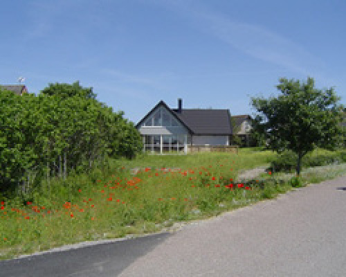 På sommaren - Hus med stor privat tomt