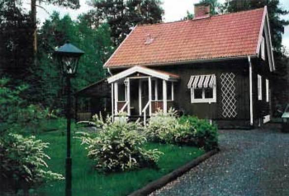 På sommaren - vackert hus