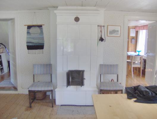 Vardagsrum - vardagsrum med kakelugn