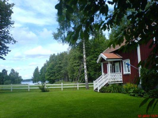 Utomhus - Tomt med utsikt över sjön