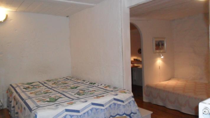 Sovrum - Sovrumsdel med två sängar