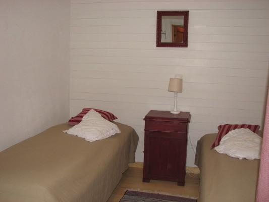 Sovrum - sovrum 3 nedervåningen med 2 enkelsängar