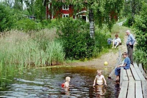 Övrig - barnvänlig badplats