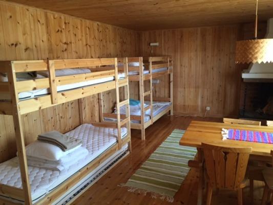 Sovrum - Sovrum 2 med 2 våningsängar samt matplats