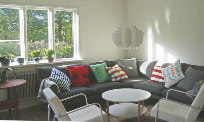 Living room - Solhem Angelstad