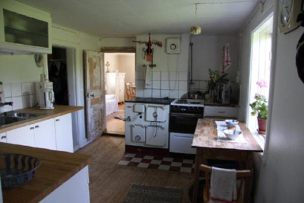 Kök - köket har kommunalt vatten och avlopp