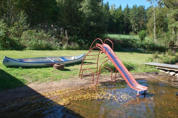 På sommaren - Här kan du rutscha och leka