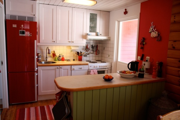 Kök - Köket med all utrustning