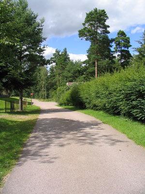 på sommaren - Vägen mot huset