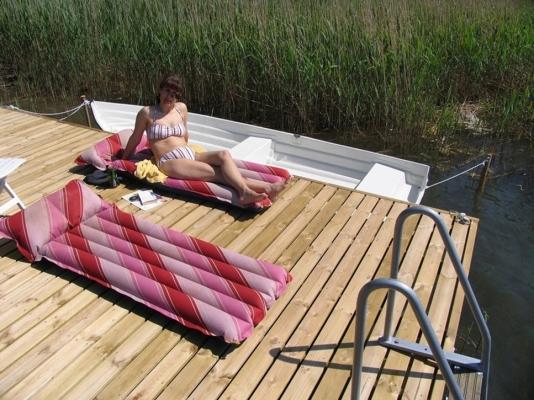 Utomhus - Underbart soldäck för sol och bad