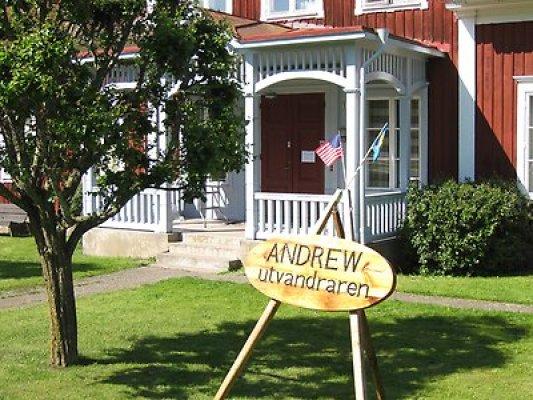 Omgivning - Emigrant- och skolmuseum i Asby
