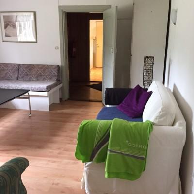 Sovrum - sovrum/vardagsrum, nedrevåning bedsoffa