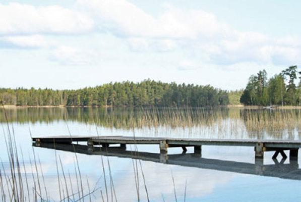 Omgivning - sjö i närheten