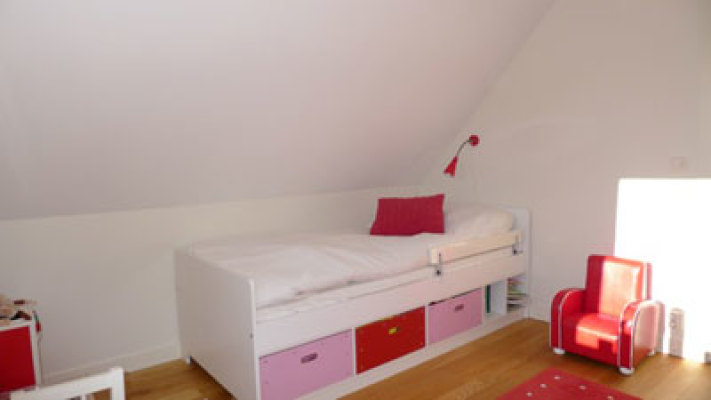 sleeping room - Upstairs bedroom 2 with an 90*200 cm bed