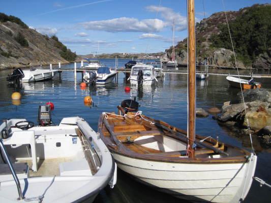 Omgivning - Båt och badviken