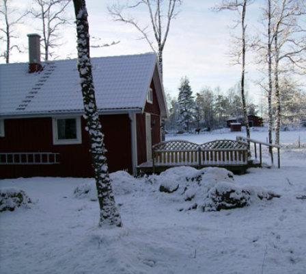 På vintern - vinterlandskap