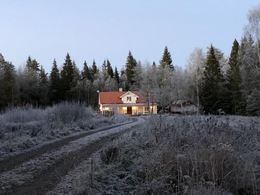 Ansicht Winter - Uppsala-Siggeforasjön