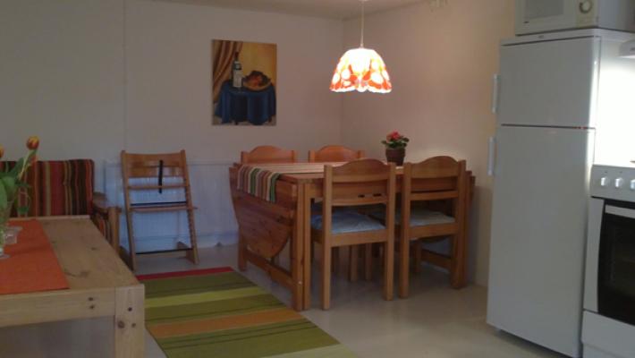 Kök - kök och vardagsrum i ett