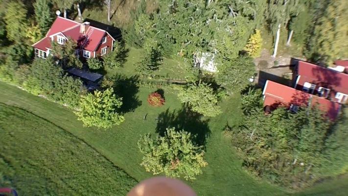 Övrig - Flygfoto över gården