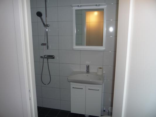 Interiör - Gästtoalett med dusch