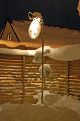 På vintern - vinter