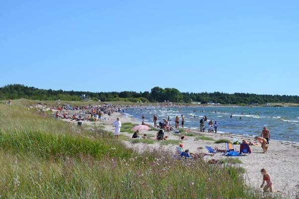 på sommaren - Tofta strand