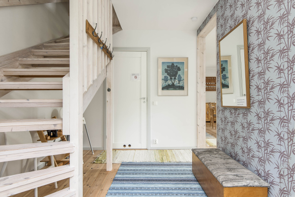 In house - Welcome to our cottage! The ground floor is open plan with a kitchen/dining area/livingroom and bathroom. Take the stairs up to reach the bedrooms.