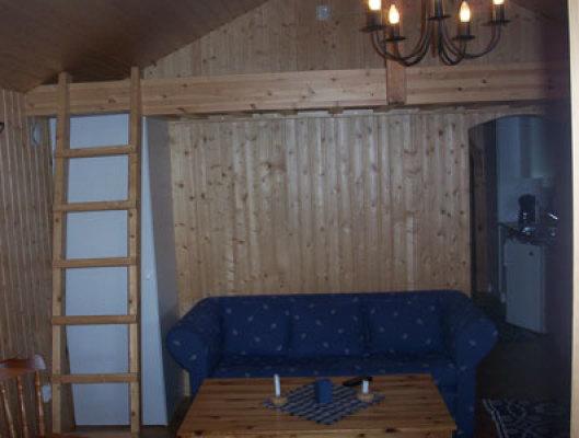 Vardagsrum - allrum med sovloft