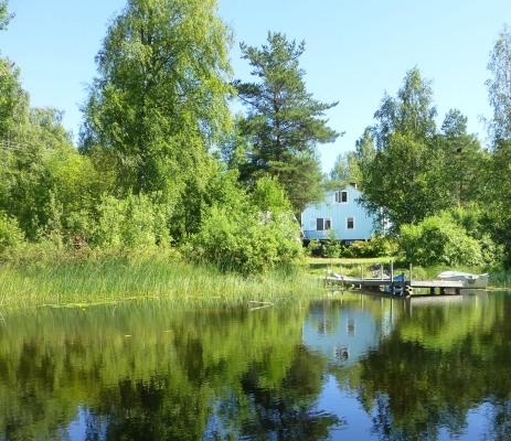 På sommaren - Semesterhus Lövåsen
