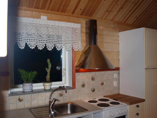 Kök - köket som är fullt utrustat för en behaglig vistelse hos oss