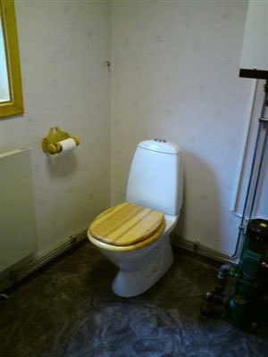 Badrum - toalett