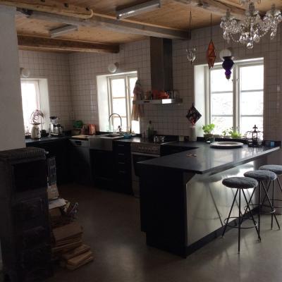 Kök - Del av kök med arbetsytor