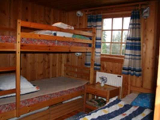 Övrig - Sovrum med våningssäng samt enkelsängar
