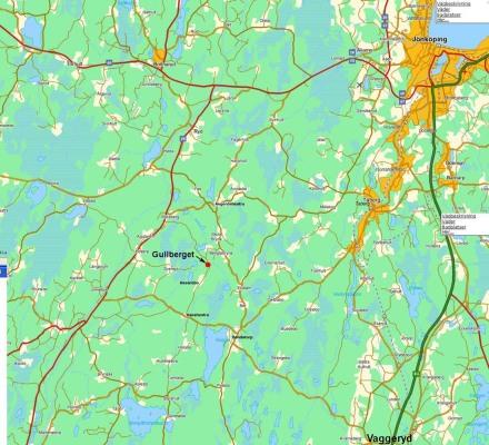 Omgivning - Karta av omgivningen